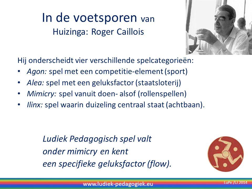 In de voetsporen van Huizinga: Roger Caillois
