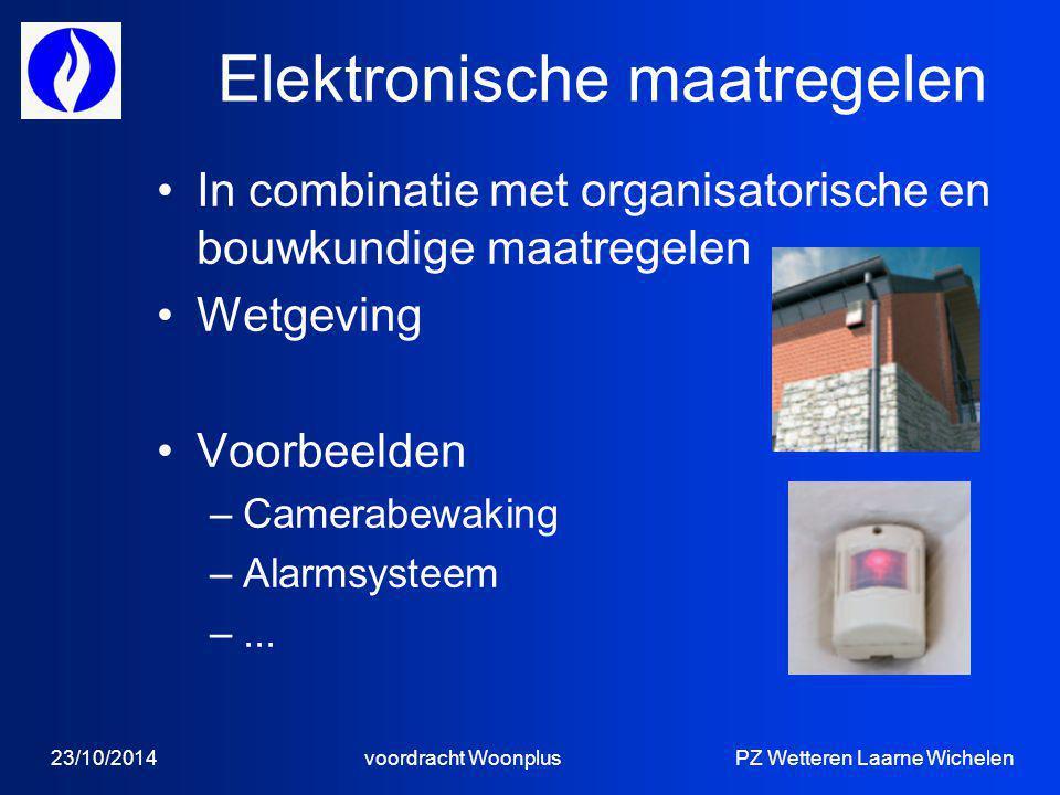 Elektronische maatregelen