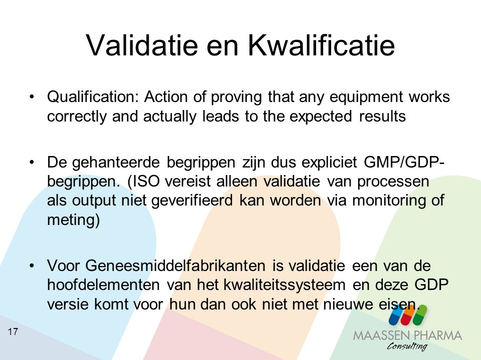 Validatie en Kwalificatie