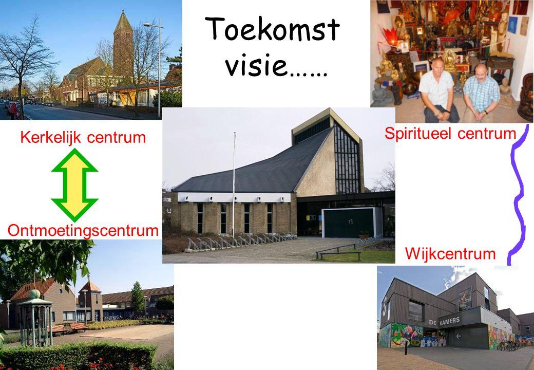 Toekomst visie…… Spiritueel centrum Kerkelijk centrum