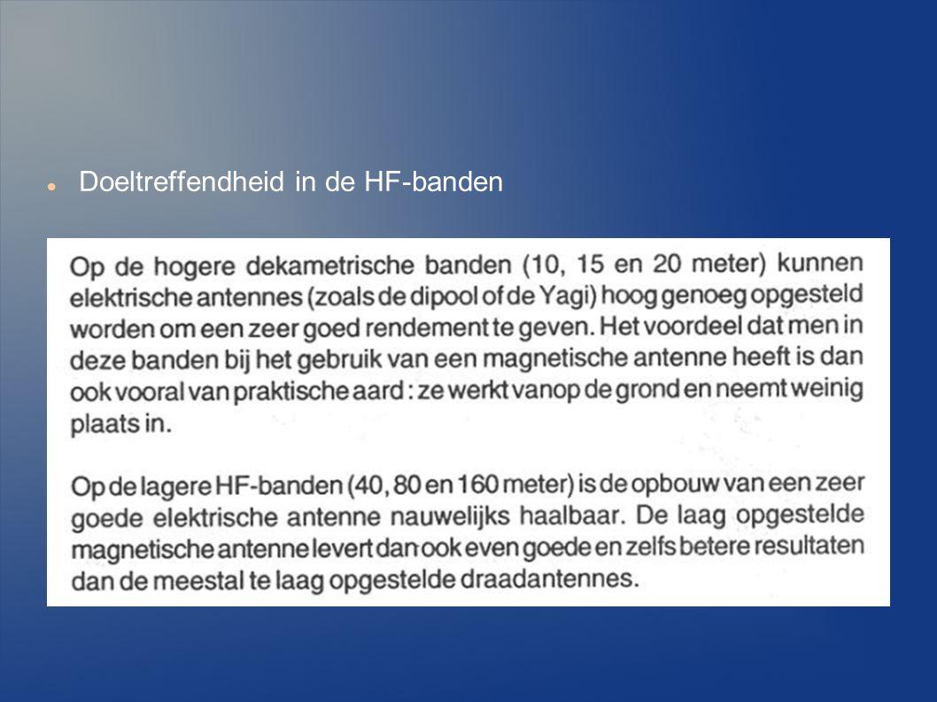 Doeltreffendheid in de HF-banden