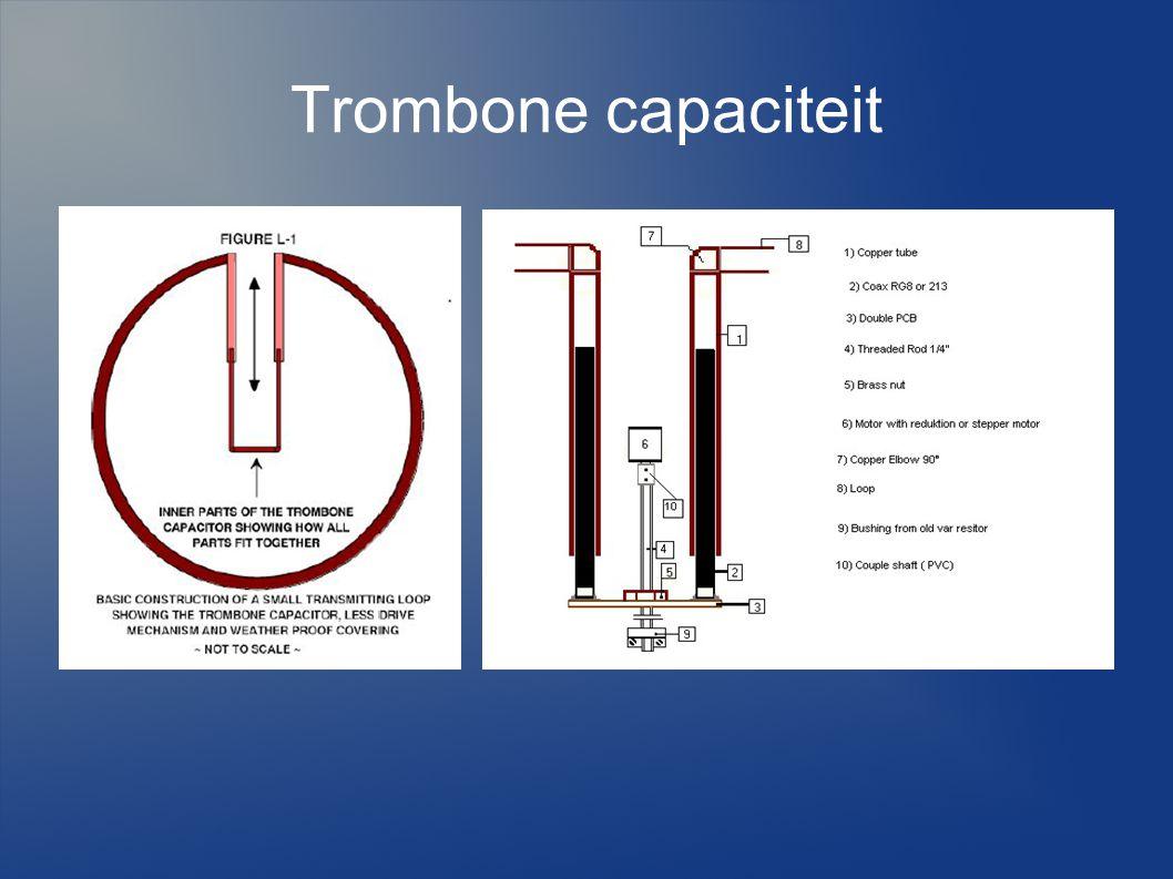 Trombone capaciteit