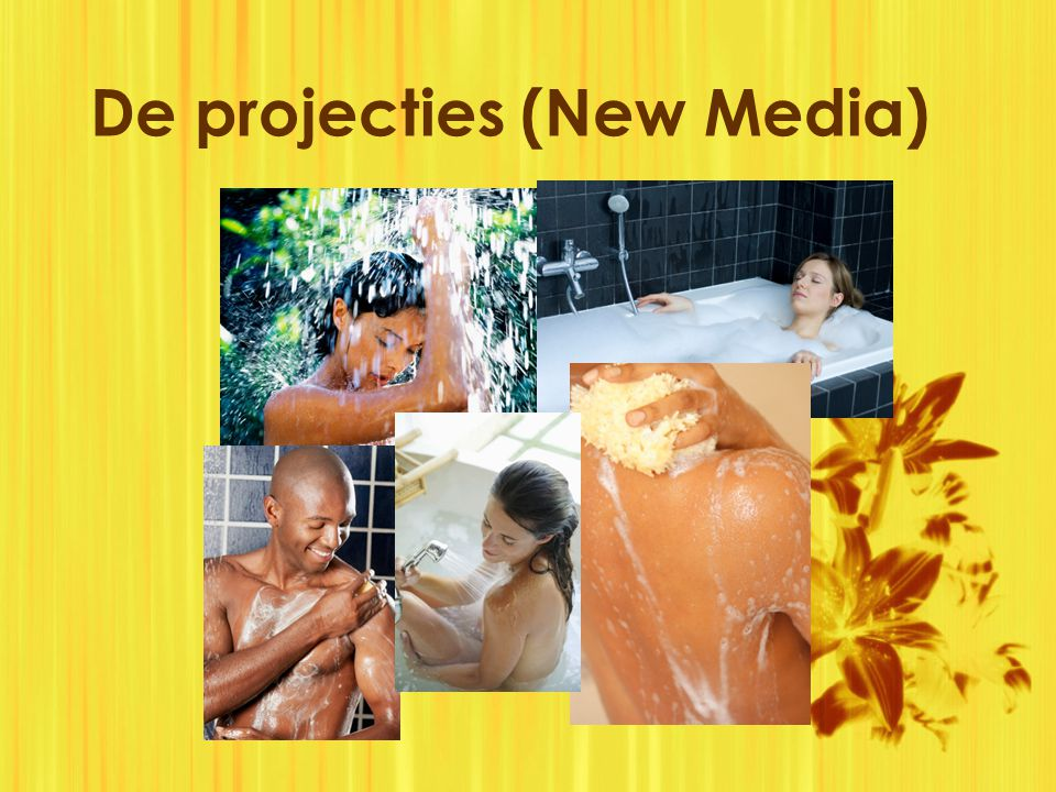 De projecties (New Media)