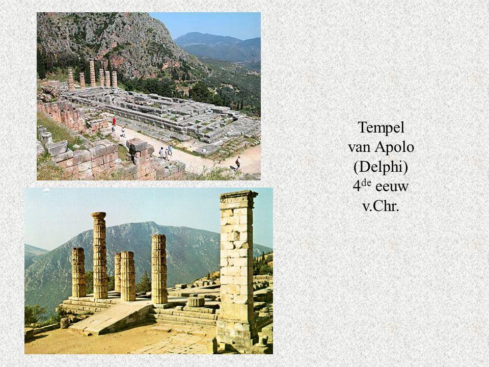 Tempel van Apolo (Delphi) 4de eeuw v.Chr.