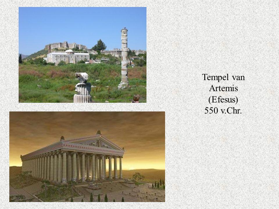Tempel van Artemis (Efesus) 550 v.Chr.