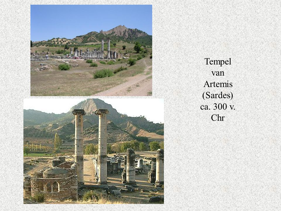 Tempel van Artemis (Sardes) ca. 300 v. Chr