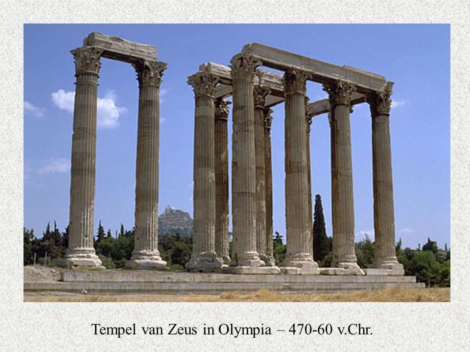 Tempel van Zeus in Olympia – 470-60 v.Chr.