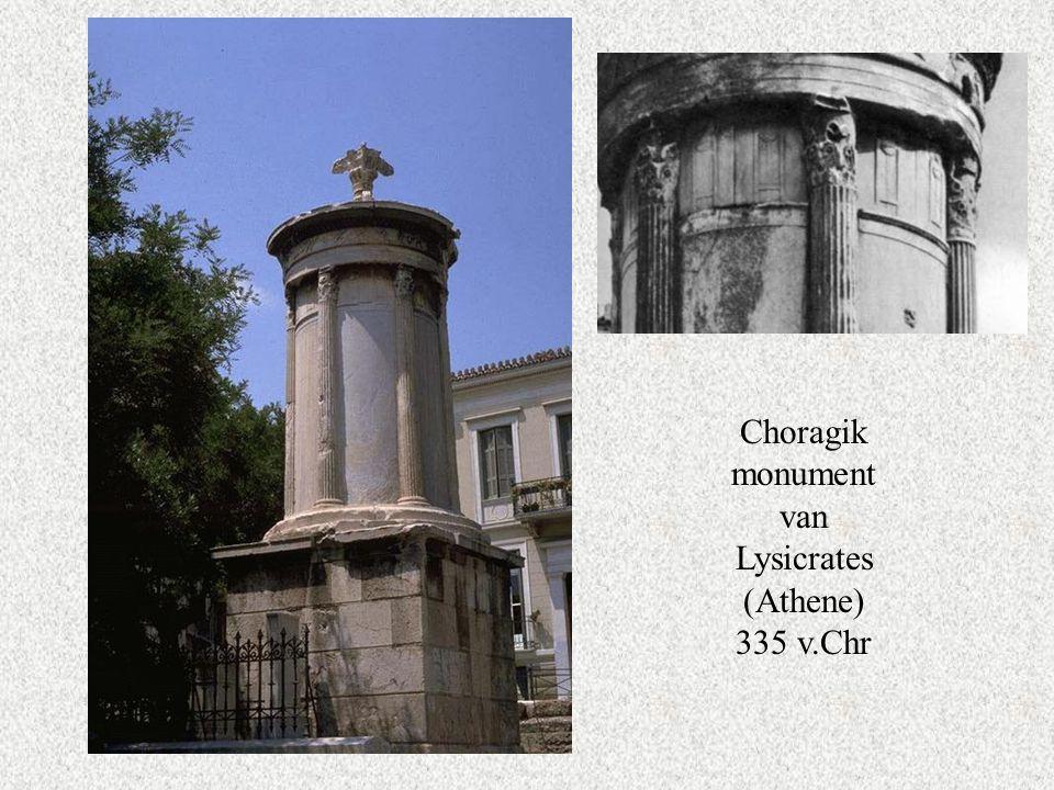 Choragik monument van Lysicrates (Athene) 335 v.Chr