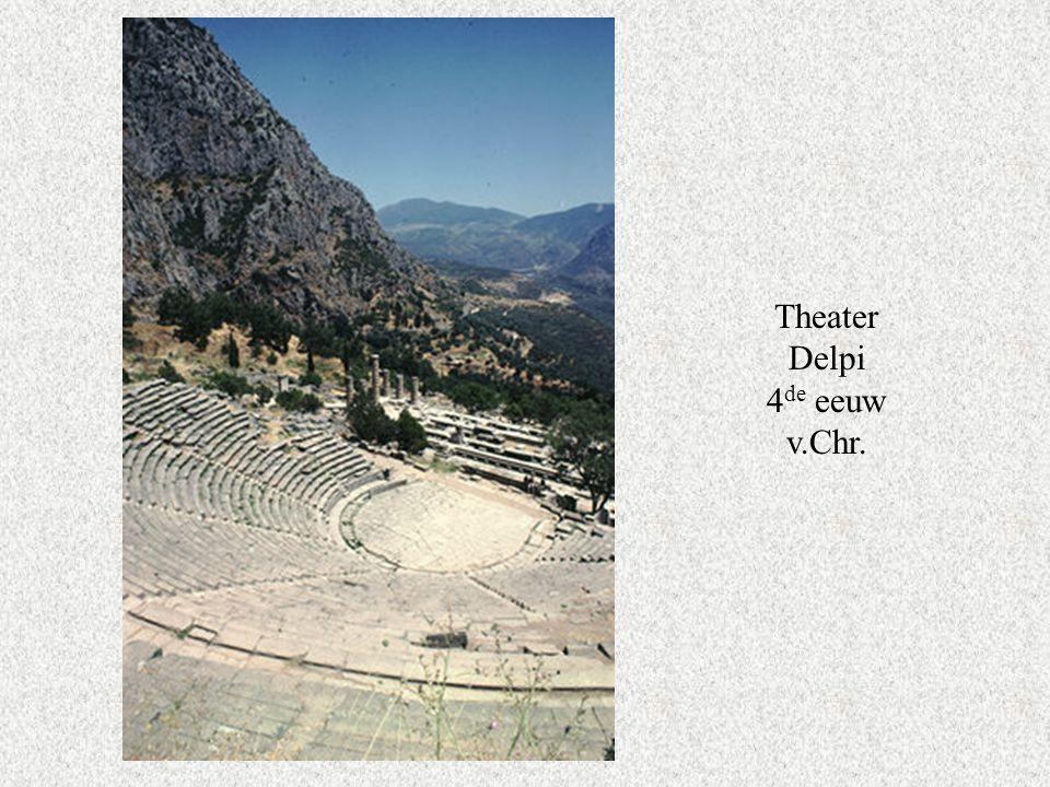 Theater Delpi 4de eeuw v.Chr.