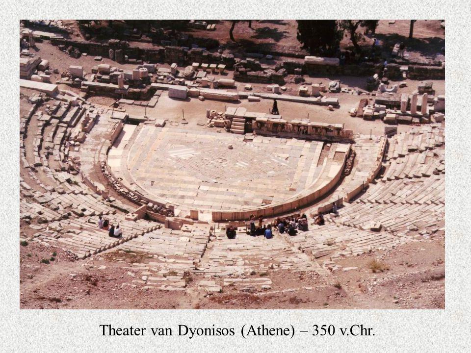 Theater van Dyonisos (Athene) – 350 v.Chr.