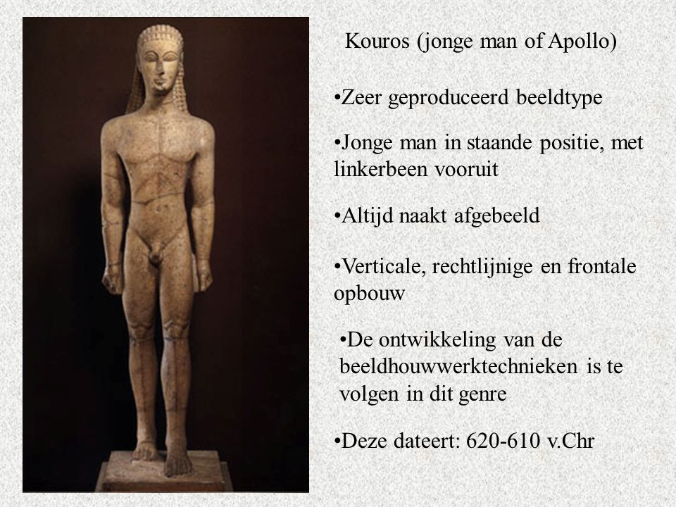 Kouros (jonge man of Apollo)