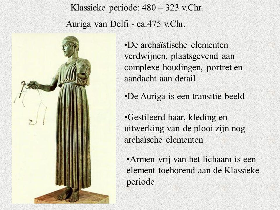 Klassieke periode: 480 – 323 v.Chr.