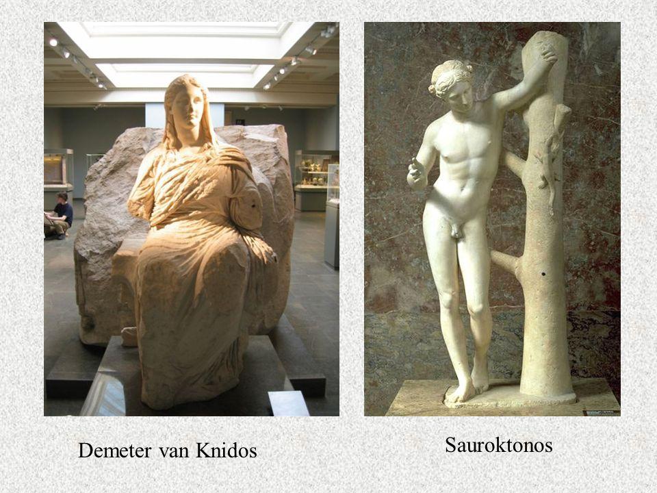 Sauroktonos Demeter van Knidos