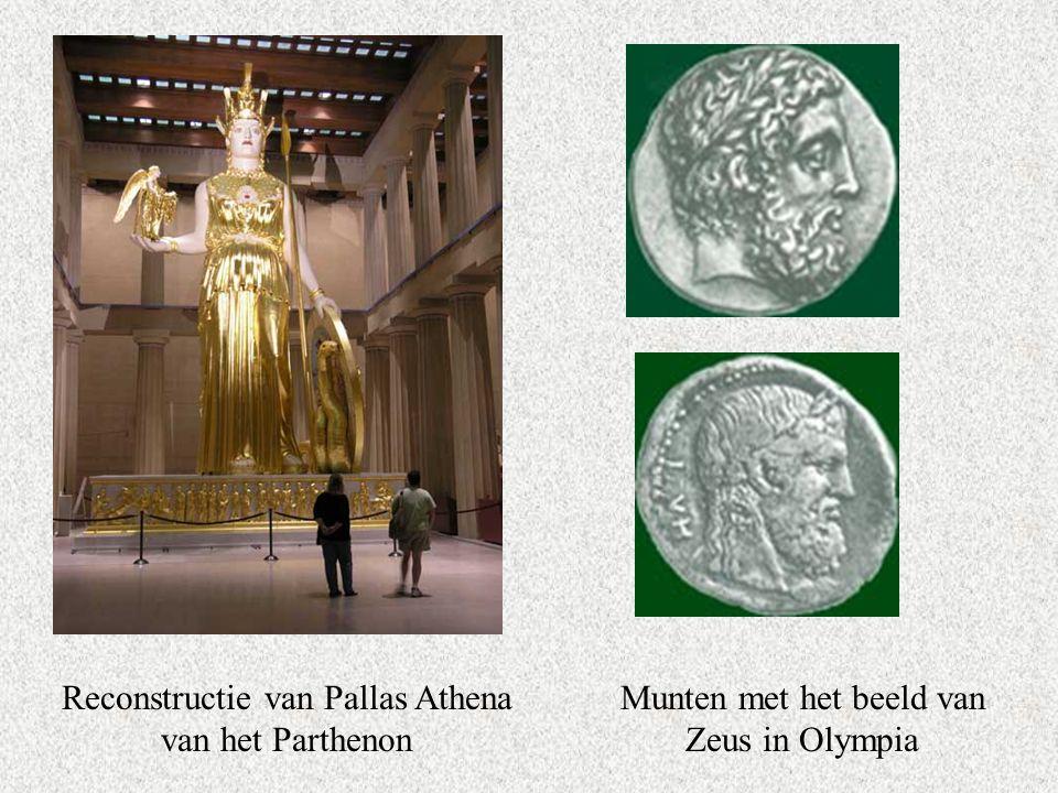 Reconstructie van Pallas Athena van het Parthenon