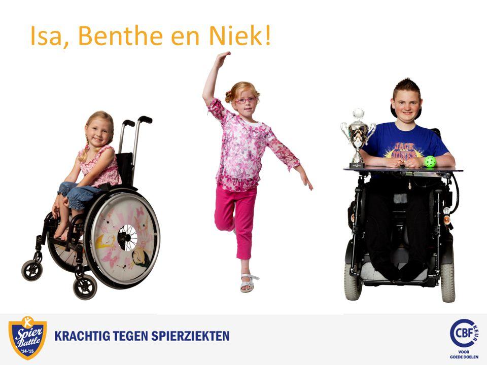 Isa, Benthe en Niek!