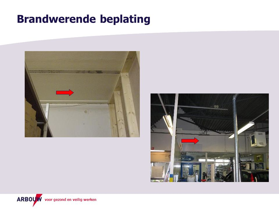 Brandwerende beplating