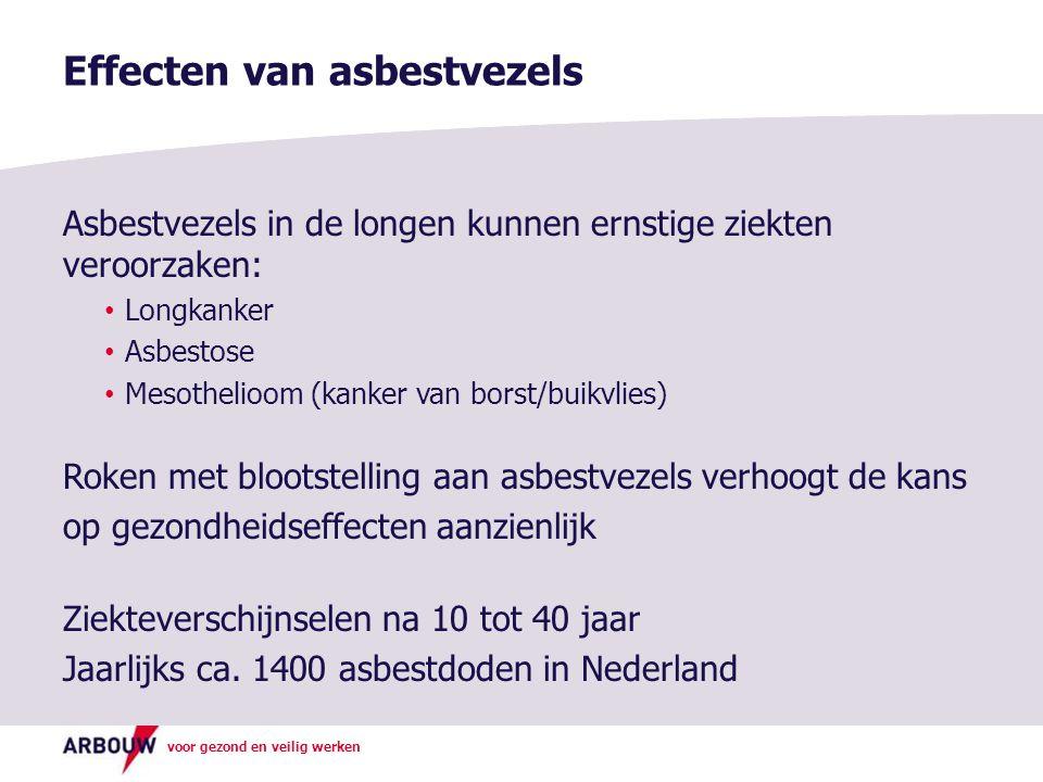 Effecten van asbestvezels