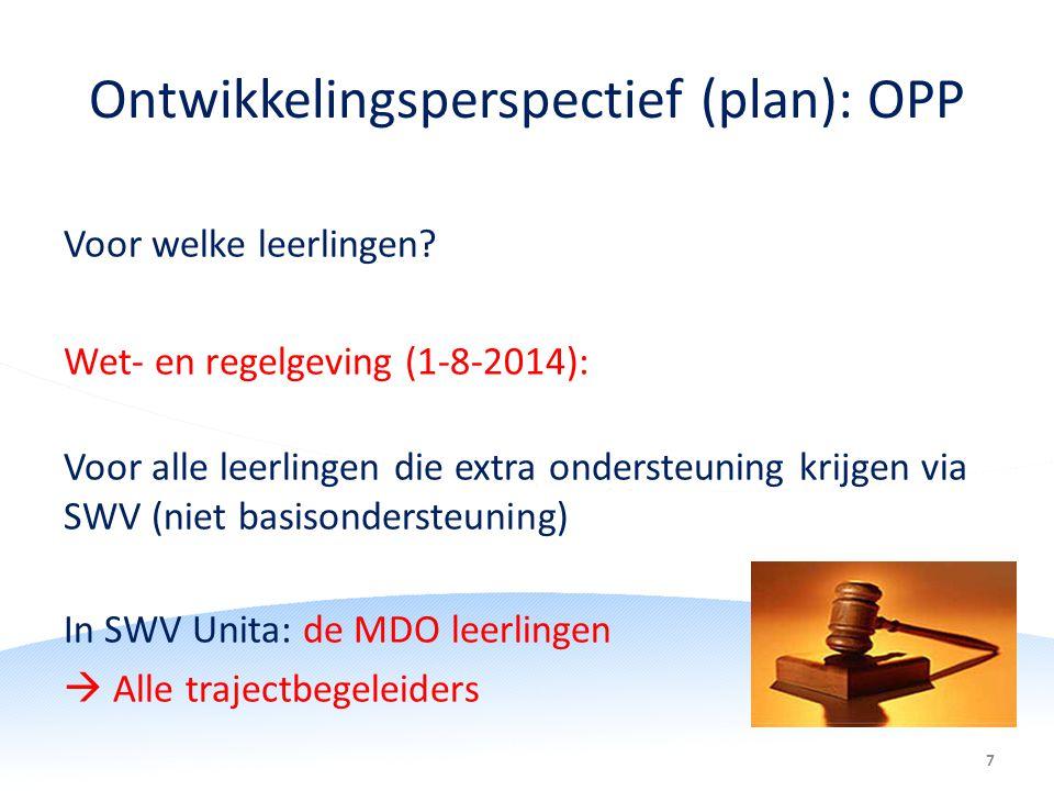 Ontwikkelingsperspectief (plan): OPP