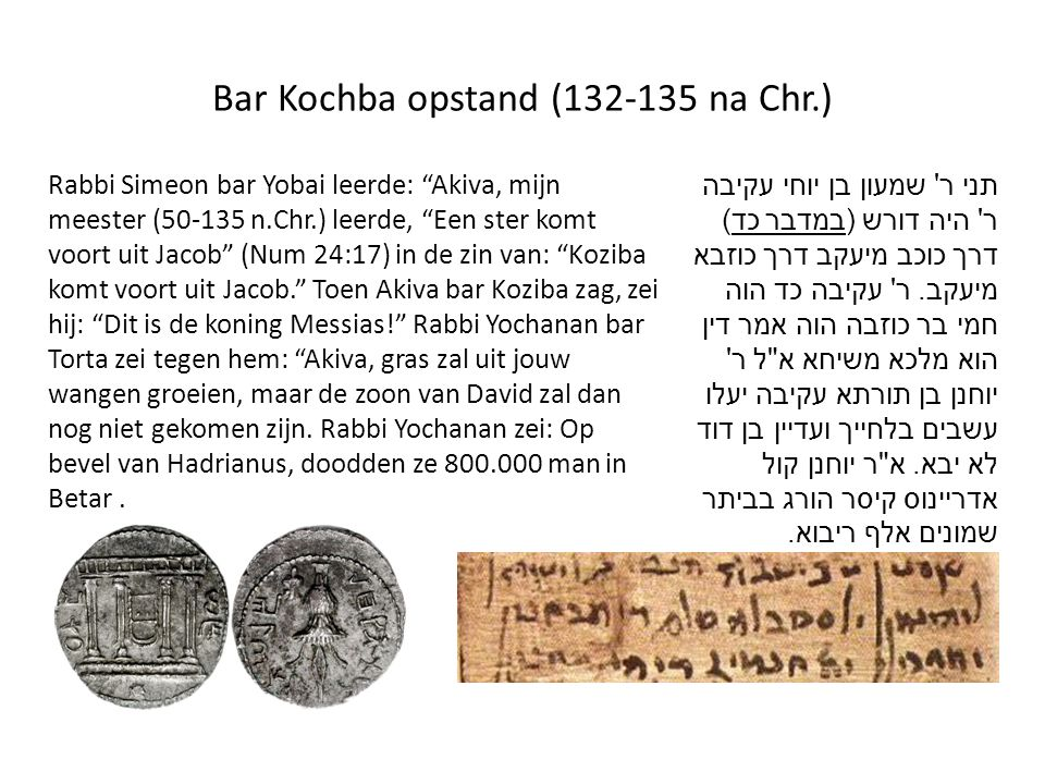 Bar Kochba opstand (132-135 na Chr.)