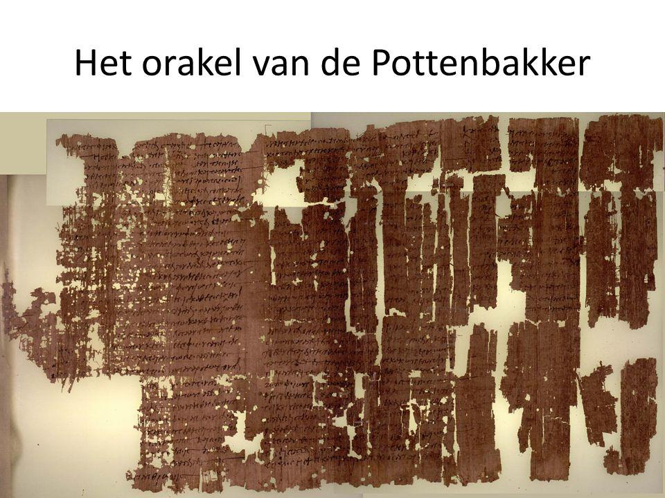 Het orakel van de Pottenbakker
