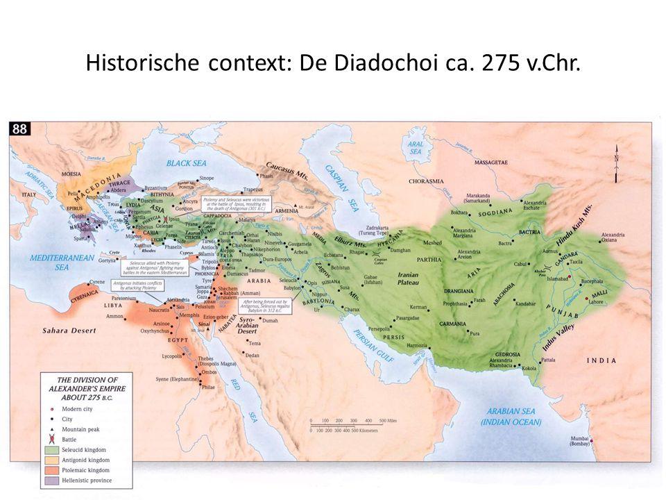 Historische context: De Diadochoi ca. 275 v.Chr.