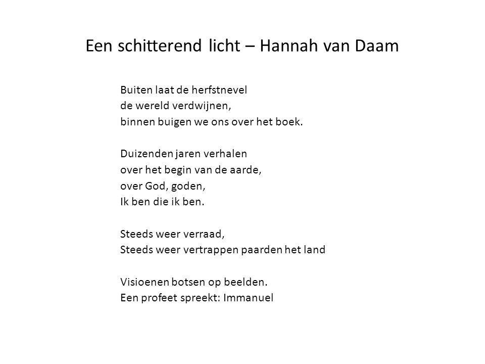Een schitterend licht – Hannah van Daam
