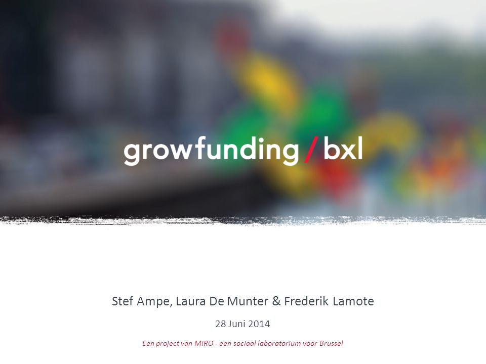Stef Ampe, Laura De Munter & Frederik Lamote