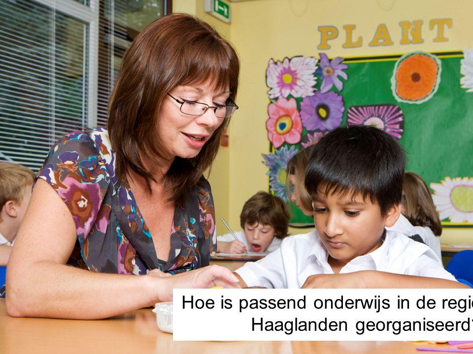 Hoe is passend onderwijs in de regio Haaglanden georganiseerd