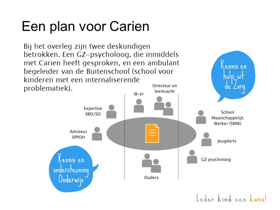 Een plan voor Carien