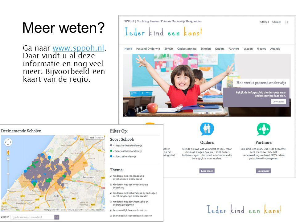 Meer weten Ga naar www.sppoh.nl.
