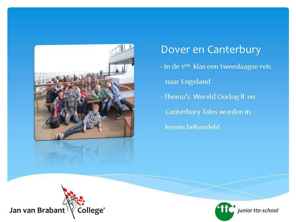 Dover en Canterbury - In de 1ste klas een tweedaagse reis