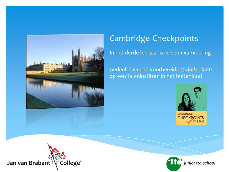 Cambridge Checkpoints