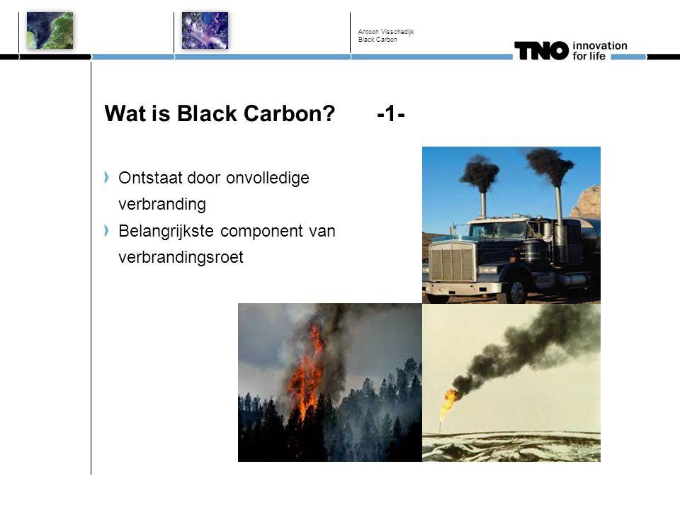 Wat is Black Carbon -1- Ontstaat door onvolledige verbranding
