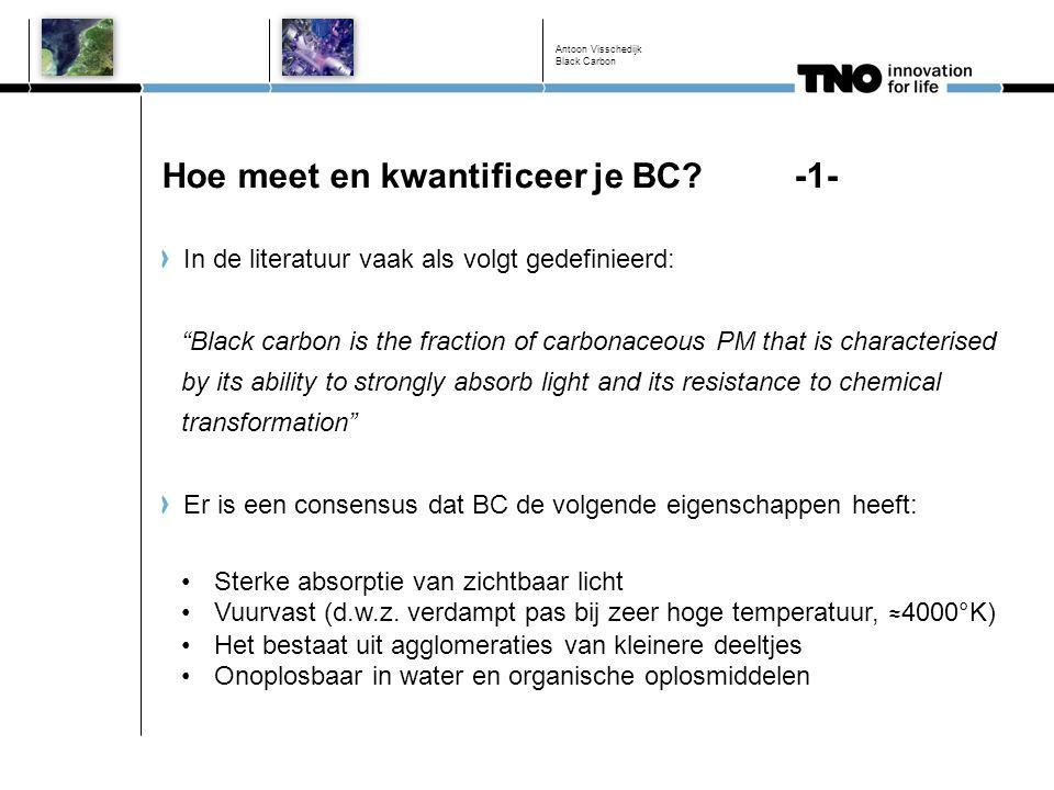 Hoe meet en kwantificeer je BC -1-