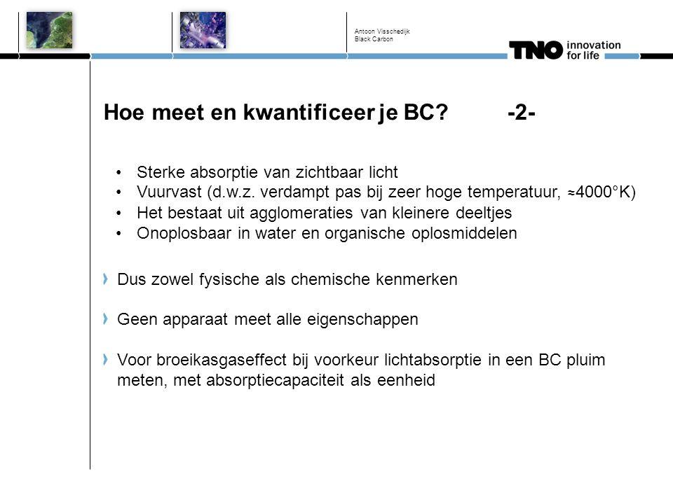 Hoe meet en kwantificeer je BC -2-