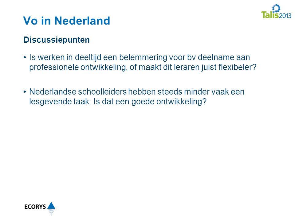 Vo in Nederland Discussiepunten
