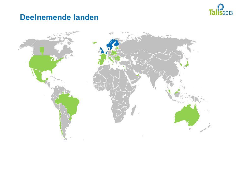 Deelnemende landen Blauw: NW-Europa (NL, Vlaanderen, Engeland, Denemarken, Finland, Noorwegen en Zweden)