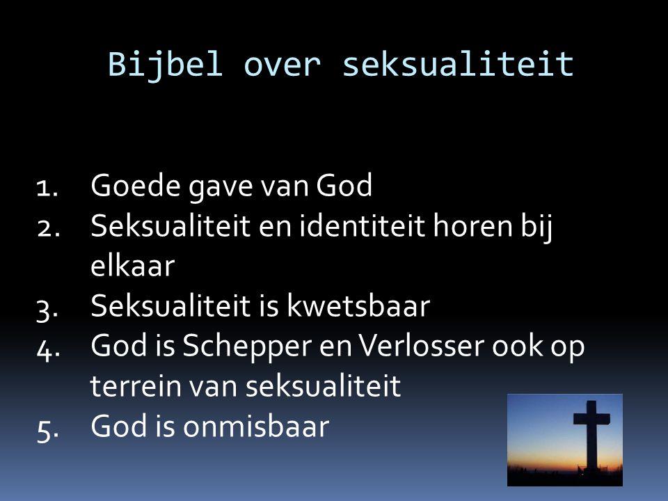 Bijbel over seksualiteit