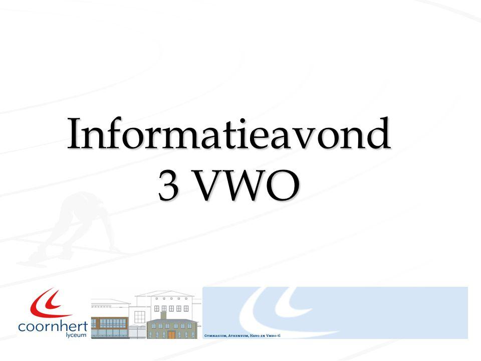 Informatieavond 3 VWO