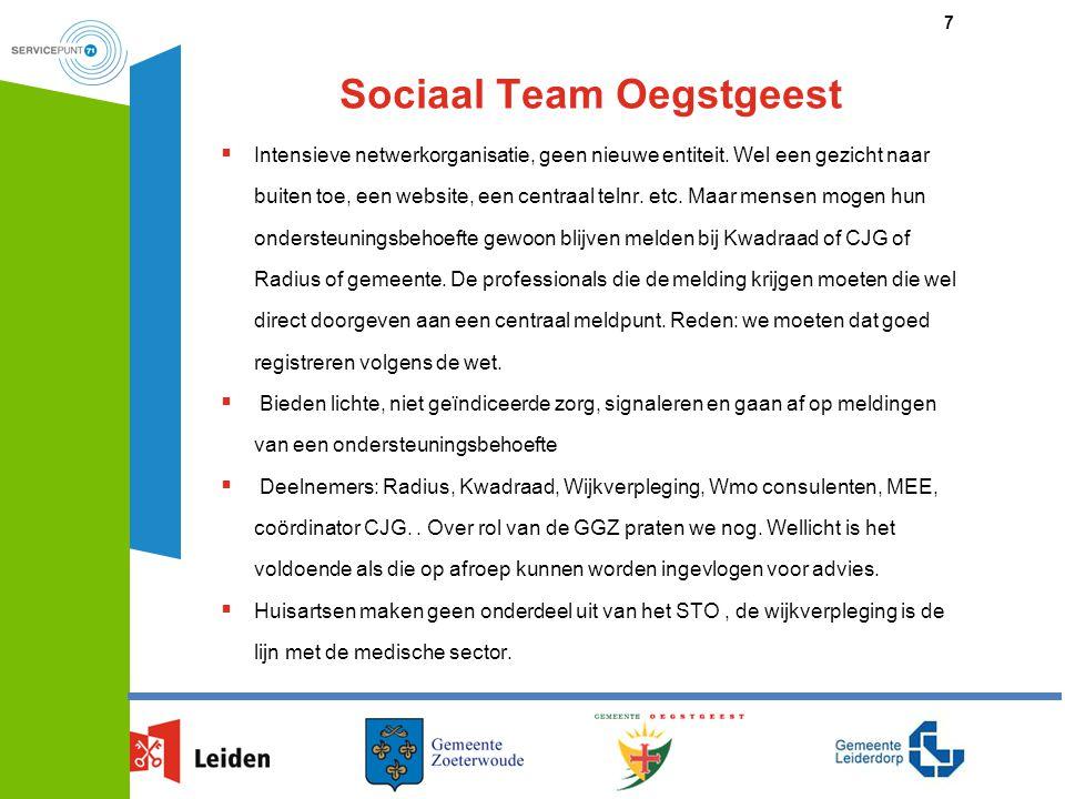 Sociaal Team Oegstgeest