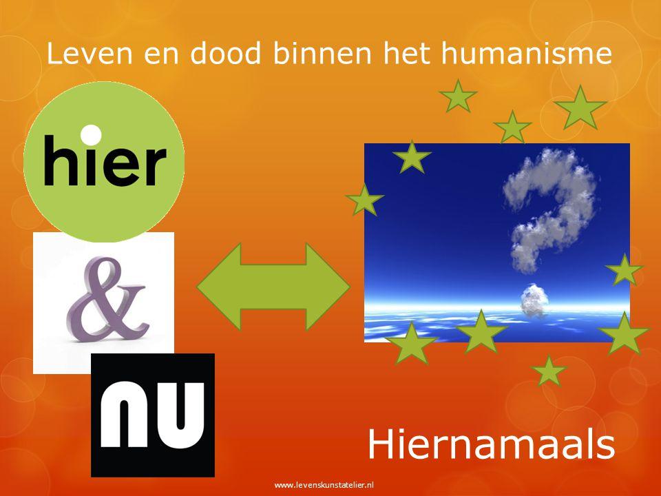 Leven en dood binnen het humanisme