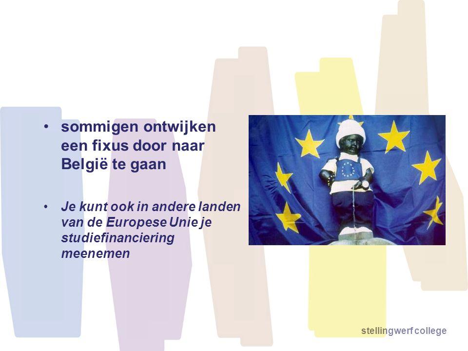 sommigen ontwijken een fixus door naar België te gaan