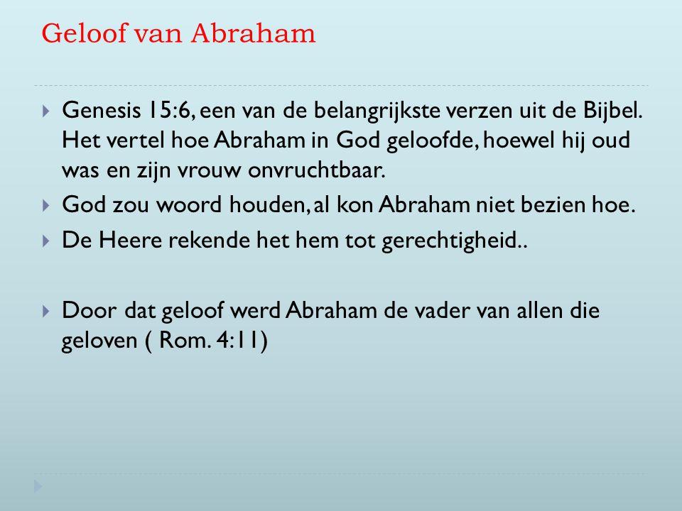 Geloof van Abraham