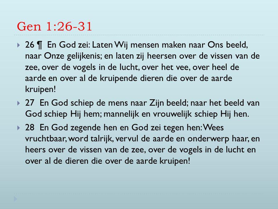 Gen 1:26-31