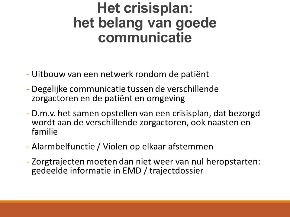 Het crisisplan: het belang van goede communicatie