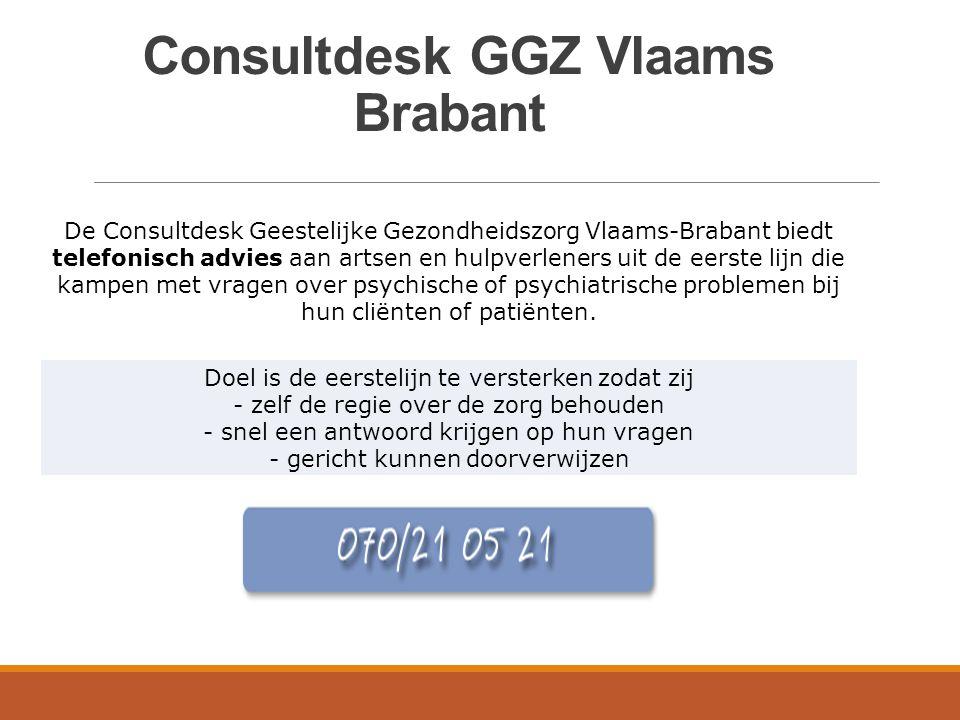 Consultdesk GGZ Vlaams Brabant