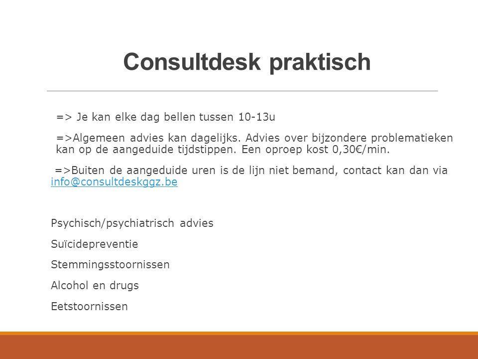 Consultdesk praktisch