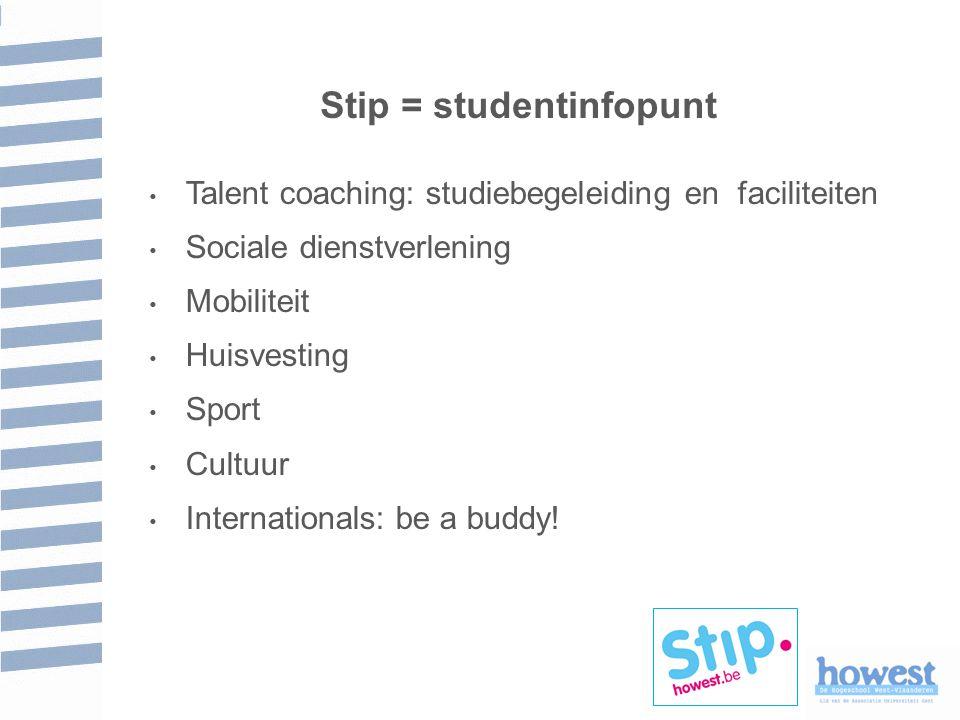 Stip = studentinfopunt