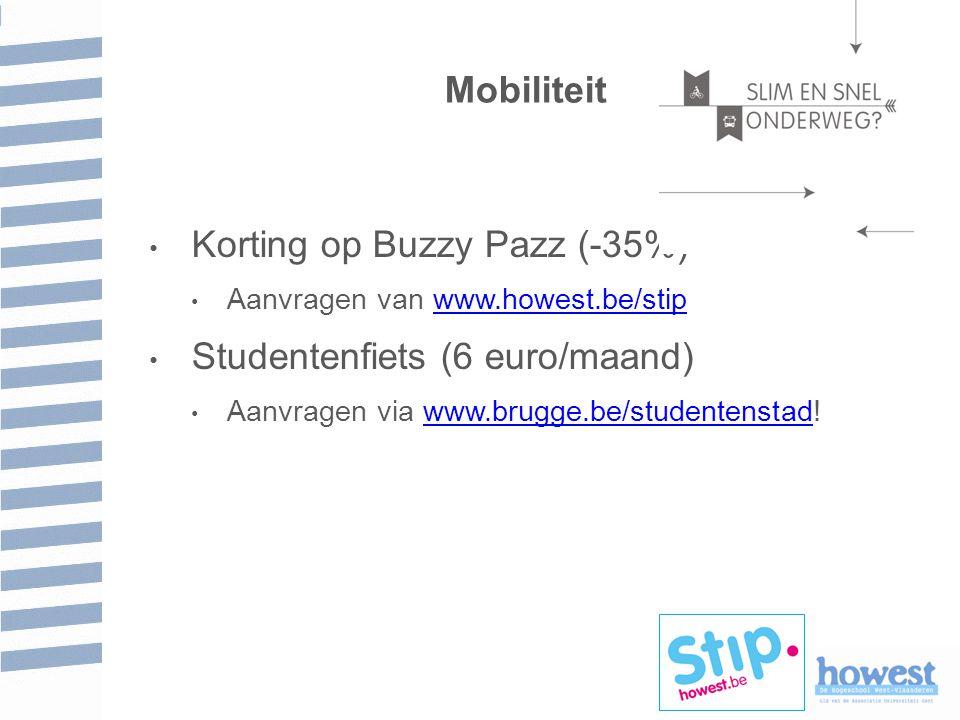 Korting op Buzzy Pazz (-35%)