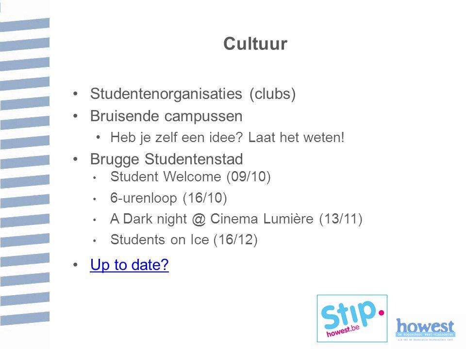 Cultuur Studentenorganisaties (clubs) Bruisende campussen